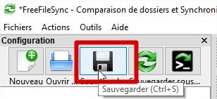 freefilesync sauvegarde synchro