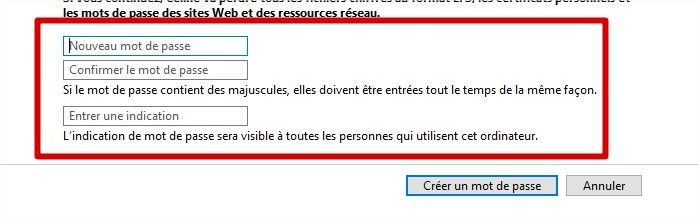 suppression mot de passe windows