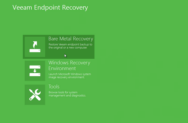 veeam endpoint recovery