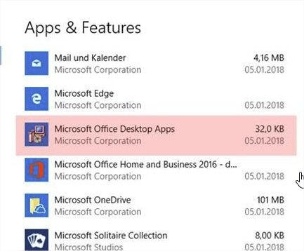 Microsoft Office Desktop Apps