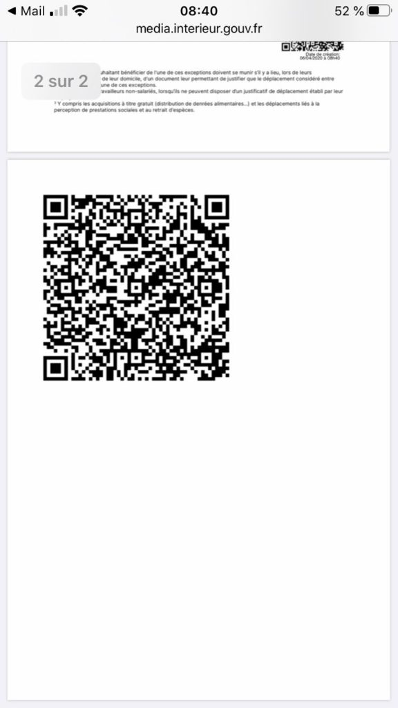 qrcode attestation page 2