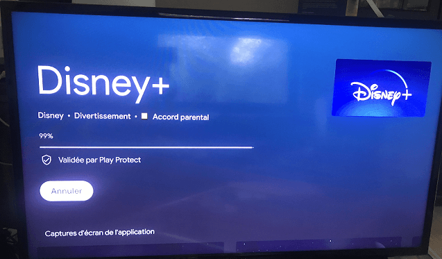 téléchargement application Disney +