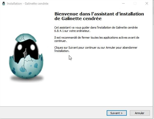 installation galinette cendree