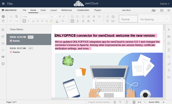 Onlyoffice Integration Owncloud