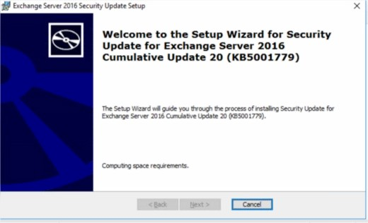patch exchange kb5001779